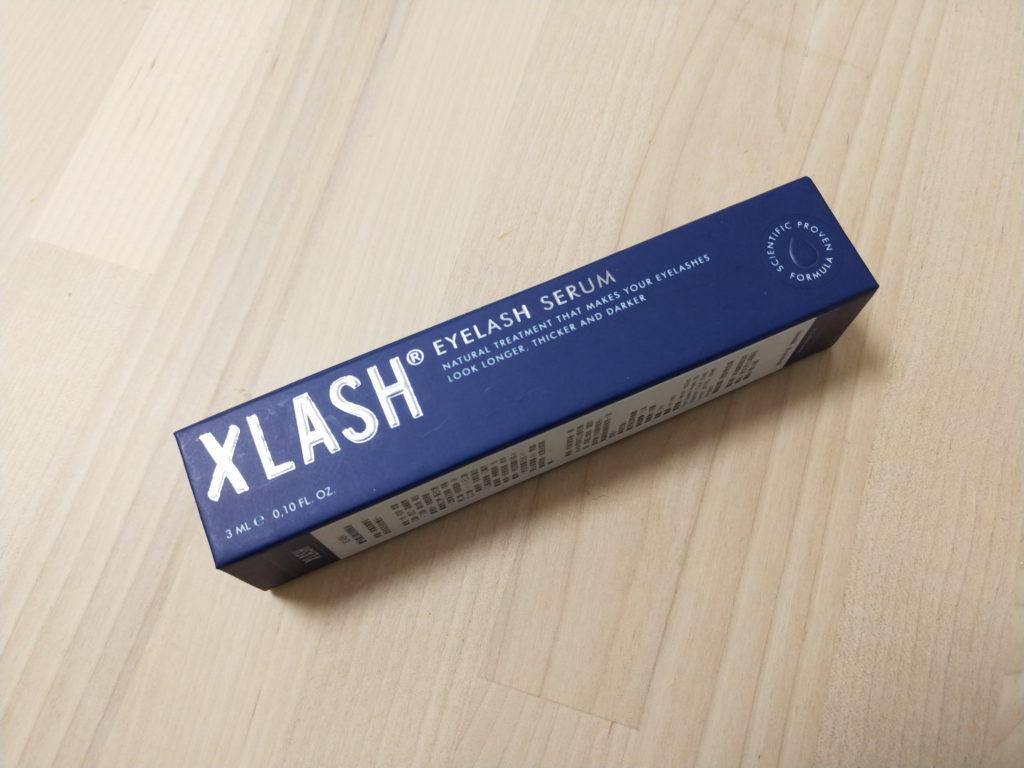 XLASH 睫毛魔幻賦活精華液 外包裝