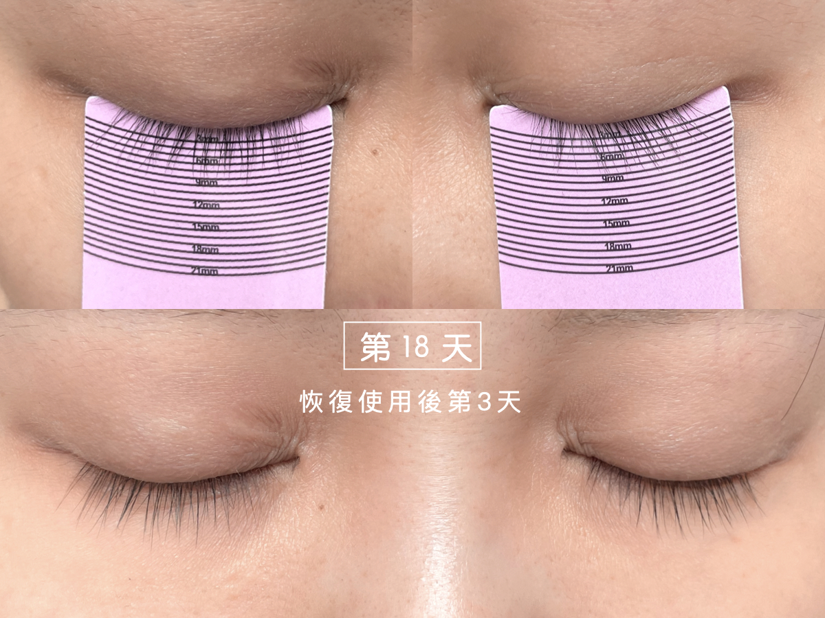 Cavilla卡薇拉睫毛增長液使用第18天,睫毛精華液,評價,效果,ptt,dcard,推薦,副作用,黑眼圈