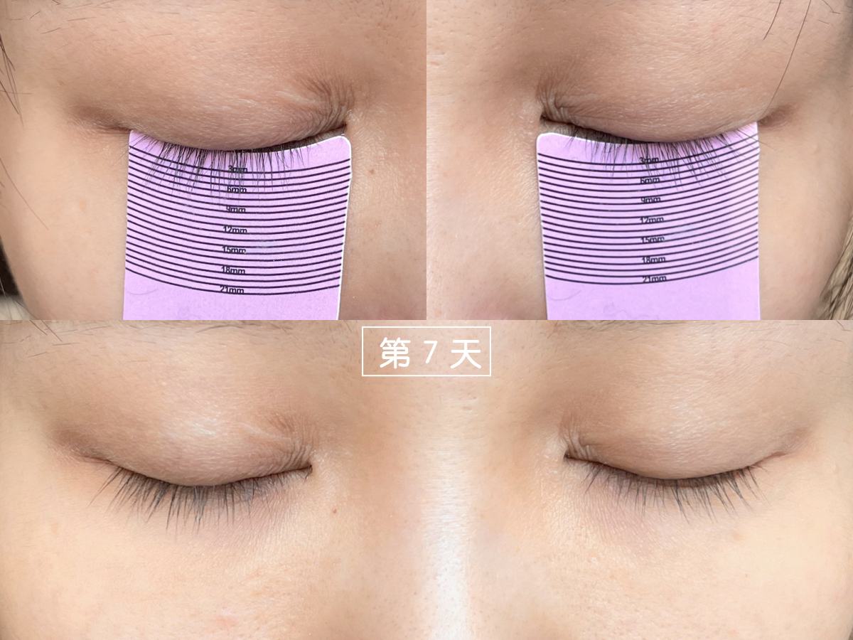 Cavilla卡薇拉睫毛增長液使用第7天,睫毛精華液,評價,效果,ptt,dcard,推薦,副作用,黑眼圈